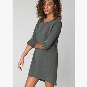 Z SUPPLY Symphony gray knit comfy dress